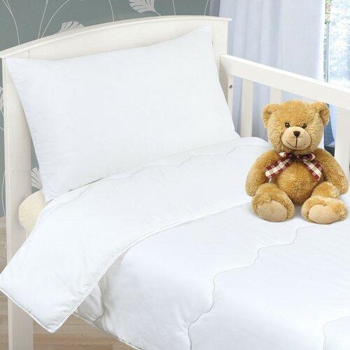 Zestaw kołdry i poduszki dla dzieci Kwiat, 90 x 135 cm, 45 x 60 cm