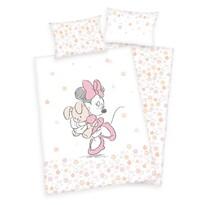 Herding Dziecięca pościel bawełniana do łóżeczka Minnie Mouse, 100 x 135 cm, 40 x 60 cm