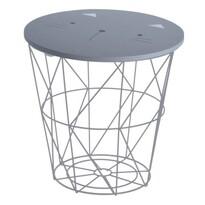 Příruční stolek Hatu, kočka, 30 x 30 cm