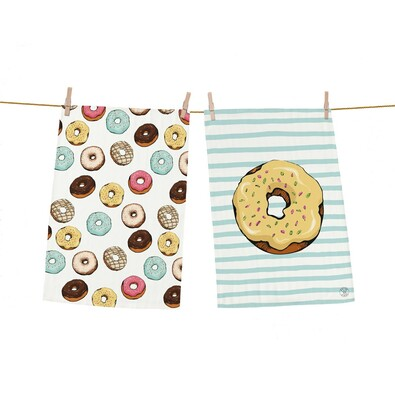 Butter Kings Tasty donuts konyharuha, 70 x 50 cm, 2 db-os szett