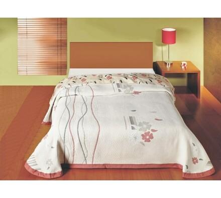 Přehoz na postel Rocio, 240 x 260 cm, bílá