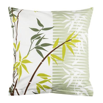 Povlak na polštářek Bamboo zelená, 40 x 40 cm
