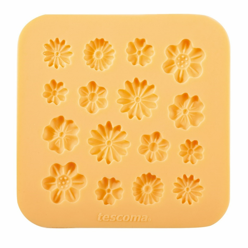 Tescoma Silikónové formičky DELÍCIA DECO, kvetinky,