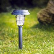Solární repelentní lampa černá