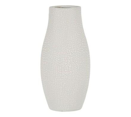 Váza keramická, bílá