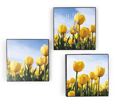 Vícedílný obraz, tulipány