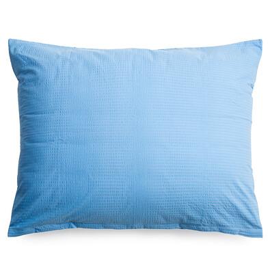 Povlak na polštář krep modrá, 70 x 90 cm