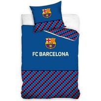 Bavlněné povlečení FC Barcelona Half of Cubes, 140 x 200 cm, 70 x 90 cm