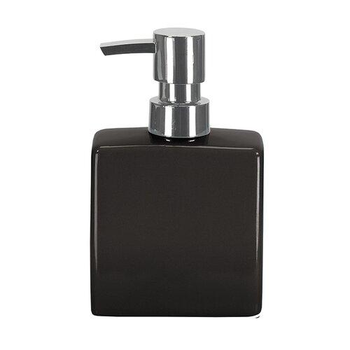 Dávkovač na mydlo flakón, čierny
