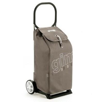 Gimi Italo nákupní taška na kolečkách hnědá