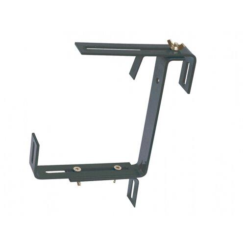 Držák samozavlažovacího truhlíku kovový nastavitelný 2ks, antracitová