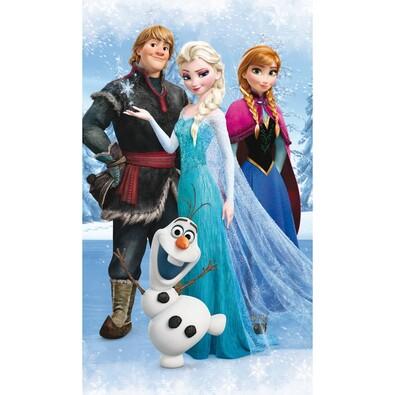 Osuška Ledové království Frozen Olaf, 70 x 120 cm