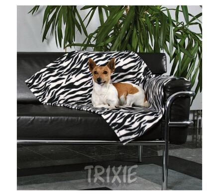 TRIXIE deka černo-bílá, 100 x 70 cm
