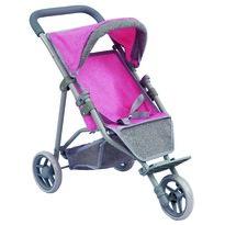 Bino Wózek dla lalek, 3 koła, 53 x 32 x 50 cm
