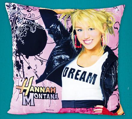 Polštářek Hannah Montana, 40 x 40