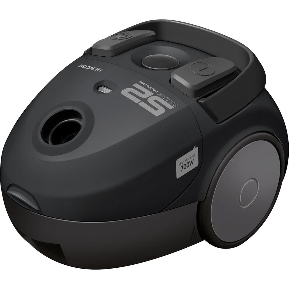 Sencor SVC 52BK-EUE3 podlahový vysavač, černá