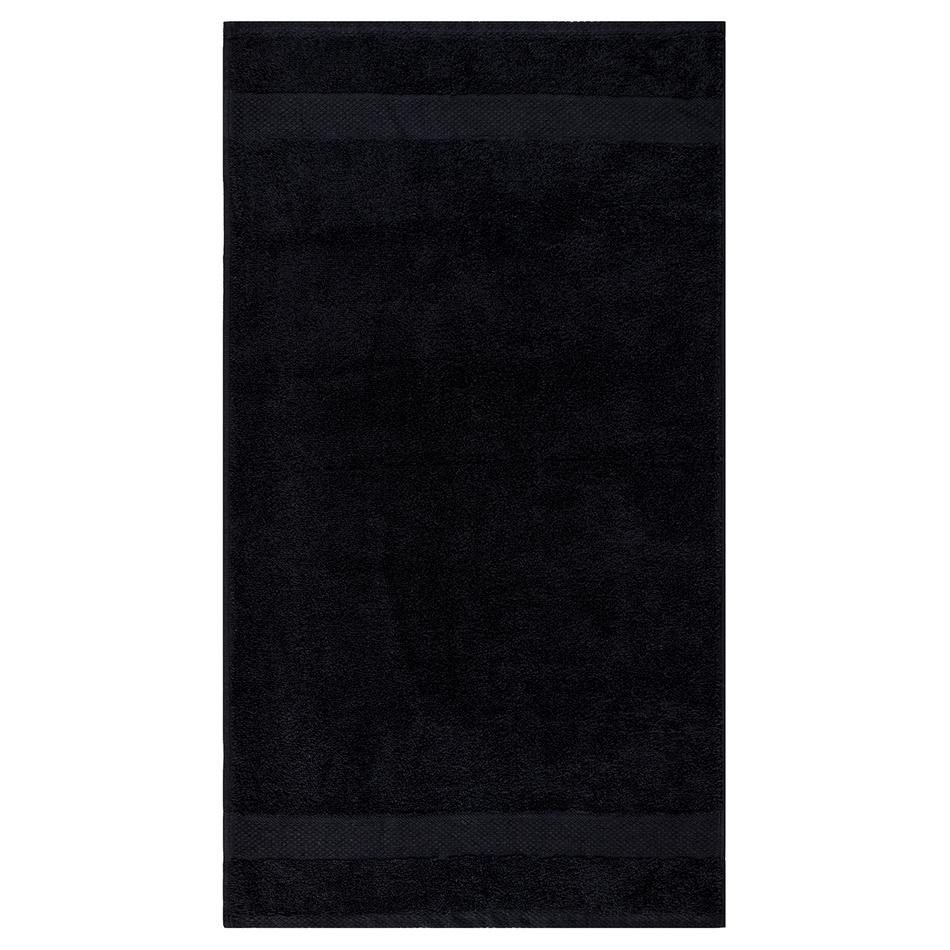 Osuška Olivia černá, 70 x 140 cm