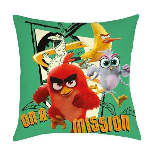 Vankúšik Angry Birds Movie 2 On a mission, 40x 40 cm