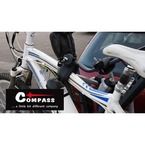 Compass Nosič bicyklov na ťažné zariadenie E-BIKE TÜV, 2 bicykle