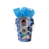 Set na piesok Žralok, modrá
