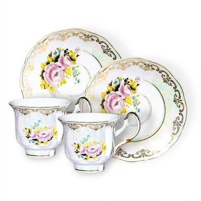 Čajová souprava perleť
