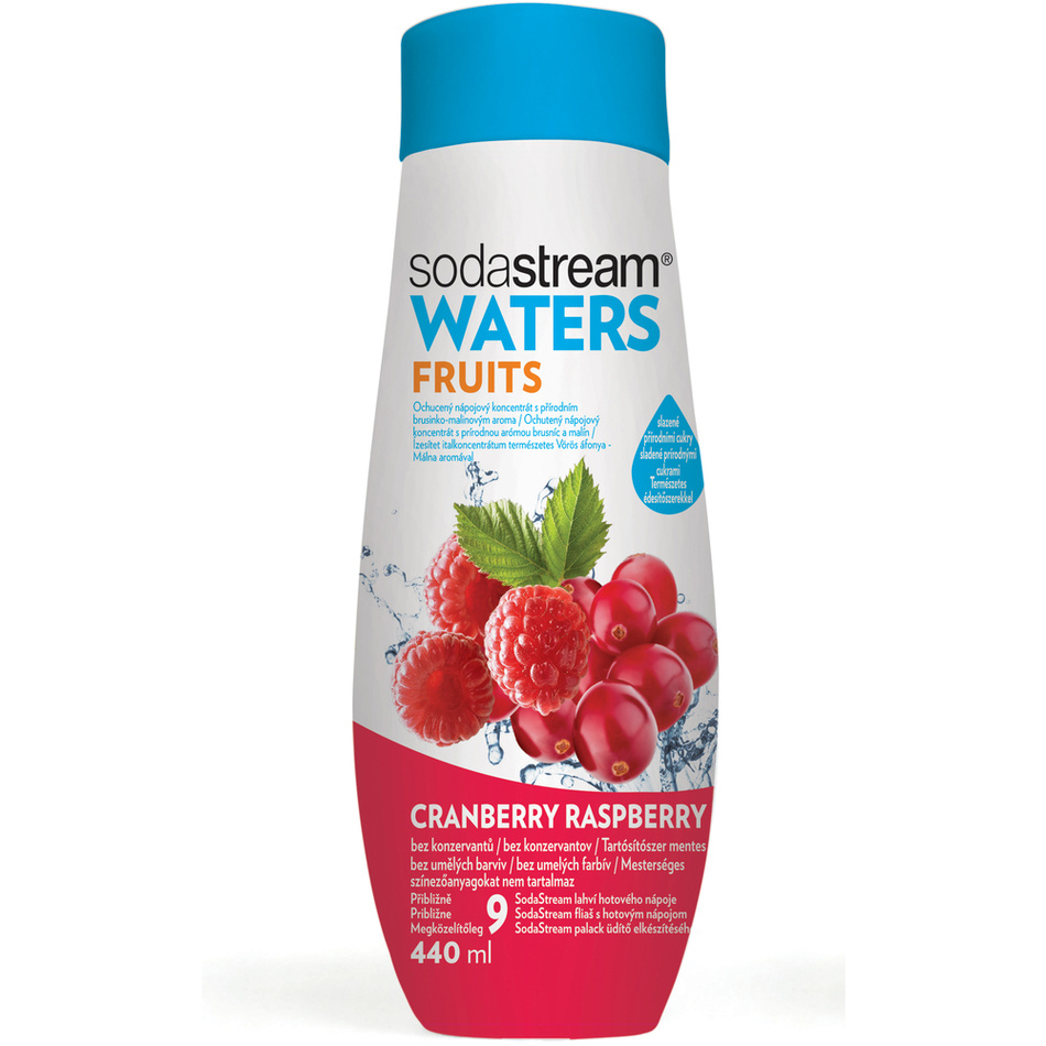 SodaStream Sirup Brusinka-Malina, 440 ml