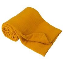 Detská deka žltá, 75 x 100 cm