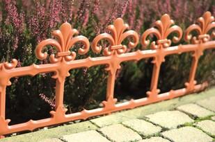 Płotek ogrodowy Art 34 cm terakota