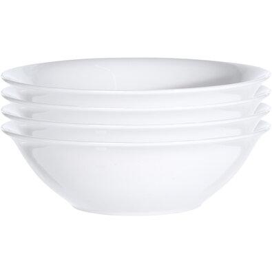 4 részes White levesestál készlet, 18 cm