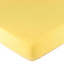 4Home prześcieradło jersey, żółte