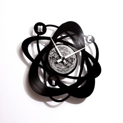 Discoclock 021 atomium nástenné hodiny