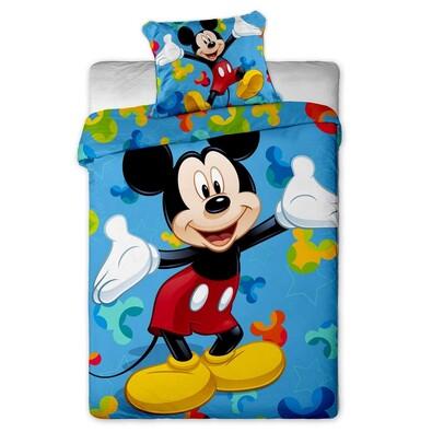 Dětské povlečení Mickey 2015 micro, 140 x 200 cm, 70 x 90 cm