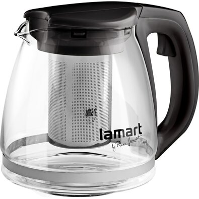 Lamart LT7025 kanvica Verre 1,1 l, čierna