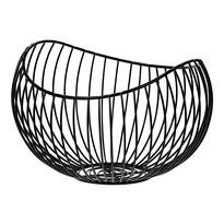 Coș metalic decorativ Elegant, 24 x 15 x 21 cm