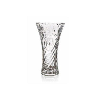 Banquet Sklenená váza Poury číra, 23 cm