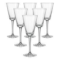 Crystalex 6dílná sada sklenic na víno JIVE, 170 ml