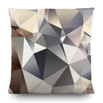 Pernă Abstract grey, 45 x 45 cm