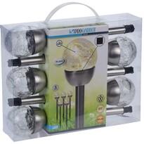 Darell szolár LED lámpa készlet, 5 db-os