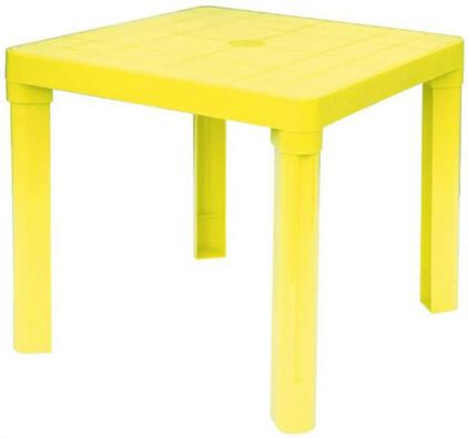 Plastový dětský stůl, žlutá