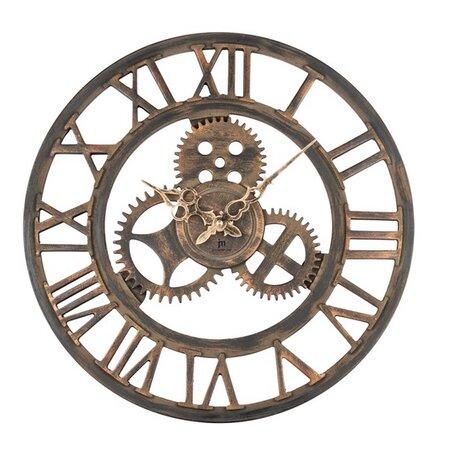 Ceas de perete Lowell 21458, diam. 43 cm
