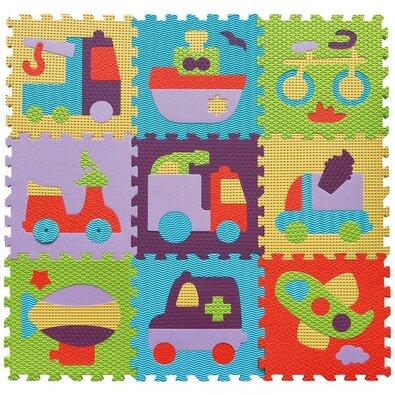 Baby Great Penové puzzle Farebná doprava SX (30x30)
