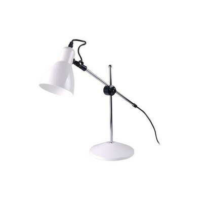 Grundig stolní lampa 42 cm bílá