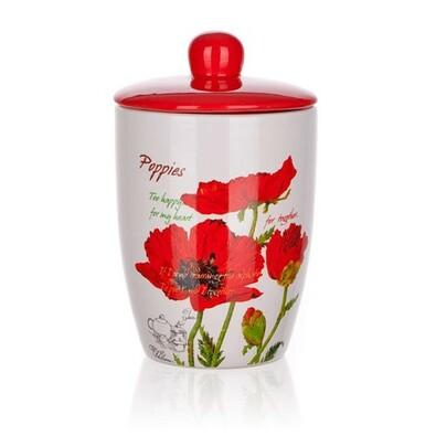 Banquet Red Poppy tál fedővel 600 ml