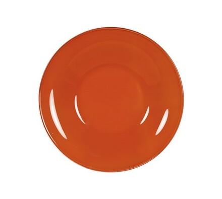 Hluboký talíř Rosso, 6 ks, oranžová, červená