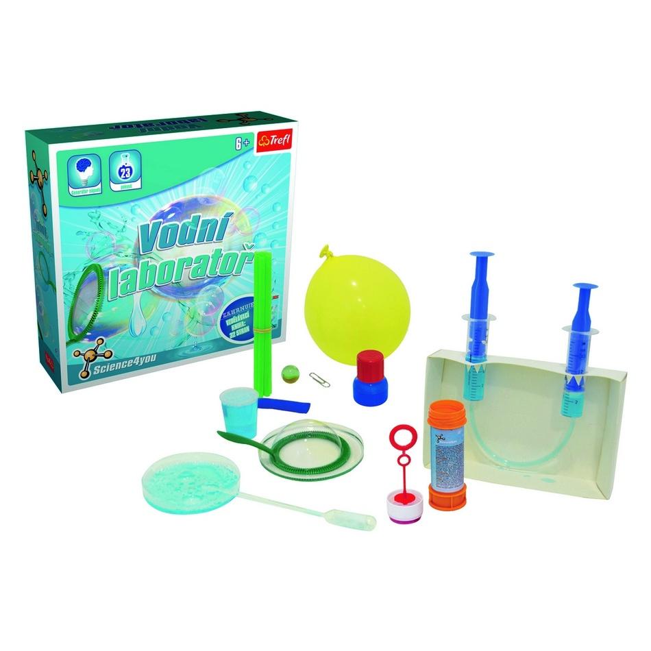 Trefl Vodní laboratoř vědecká hra 23 pokusů Science 4 you