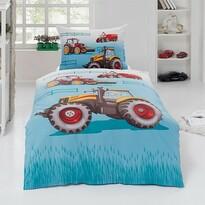 Matějovský Bavlnené obliečky Traktor, 140 x 200 cm, 70 x 90 cm