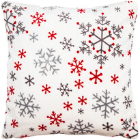 4Home Vánoční povlak na polštářek Snowflakes, 50 x 50 cm