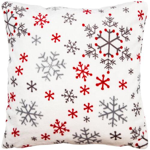 4Home Vianočná obliečka na vankúšik Snowflakes, 50 x 50 cm