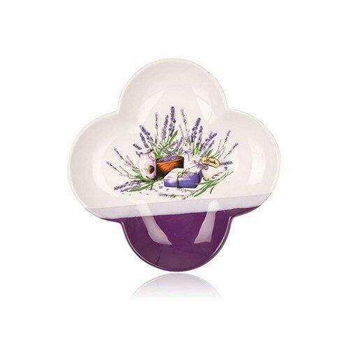 Banquet Servírovacia miska štvorlístok Lavender 26 cm