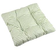 Sedák Adéla, zelená kostička, 40 x 40 cm, sada 2 ks